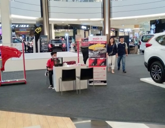 WEALTHY Pamerkan Photochromic Film dan Paint Protection Film di AEON Mall BSD