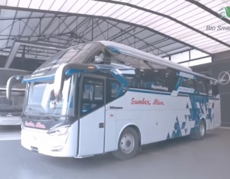Karoseri Laksana Perkenalkan Teknologi Bio Smart and Safe Bus