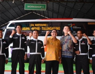 Mitsubishi Fuso Buka 2S Fleet Workshop di Malang