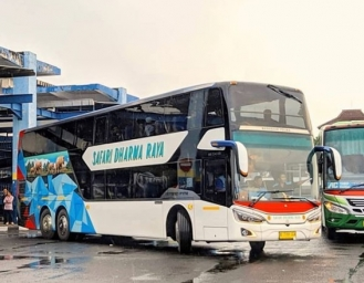 Safari Dharma Raya Sediakan Penjualan Tiket Bus Double Decker via Traveloka