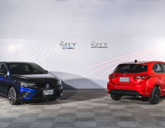 Honda City Hatchback dan New City e:HEV Debut Perdana di Thailand
